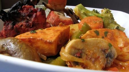 Kurry Kabab's Tandoori Chicken and Paneer
