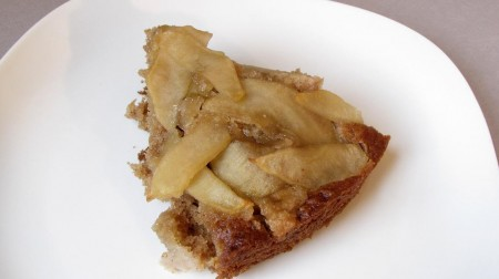 Chai-Apple Coffee Cake