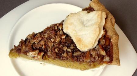 Pumpkin Pie with Streusel