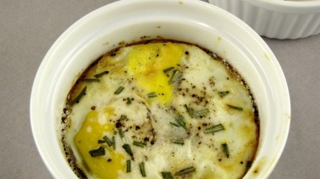 Rosemary Baked Eggs
