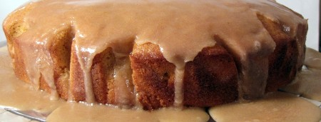 Pumpkin Cake with Brown Butter Frosting