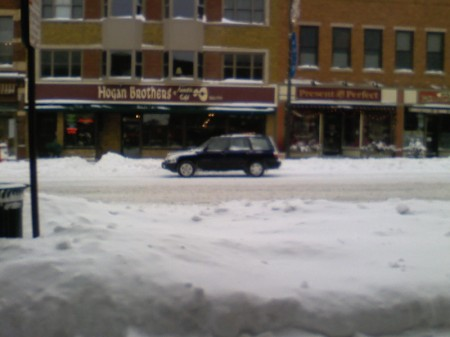 part of downtown Northfield, MN