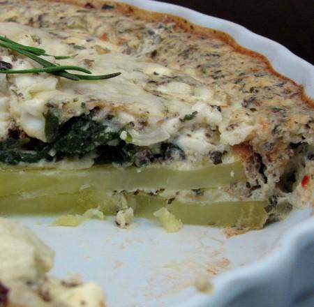 Mediterranean Cheese Pie