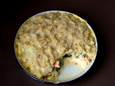 Crabby Shepherd's Pie