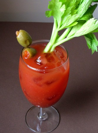Sriracha Bloody Marys